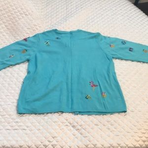 Marisa Christina Sweaters - Ladies whimsical lightweight sweater